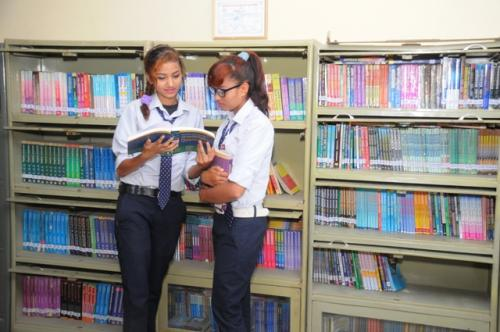 Library with Students